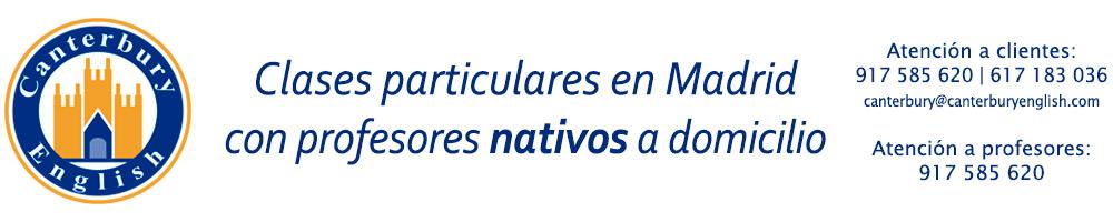Academia de inglés que ofrece clases particulares de inglés en Madrid a domicilio con profesores nartivos